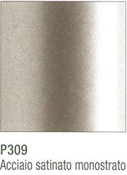 metallo acciaio satinato monostrato