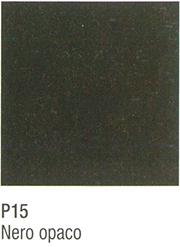 metallo nero opaco